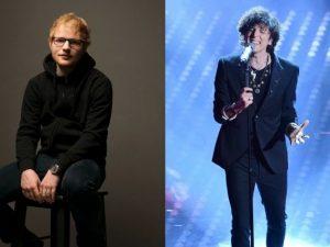 Ed Sheeran ed Ermal Meta