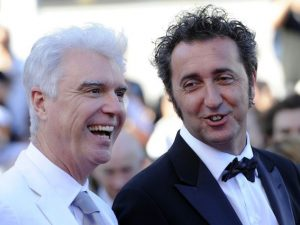 David Byrne e Paolo Sorrentino (Getty Images)