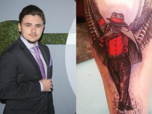 L'incredibile tatuaggio di Prince per ricordare il padre Michael Jackson