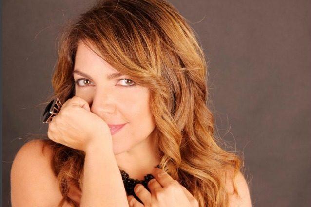 La cantante Cristina D'Avena.