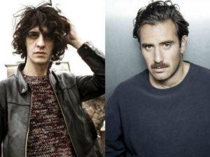 I Thegiornalisti sul podio della Indie Music Like comandata da Motta e Mario Venuti