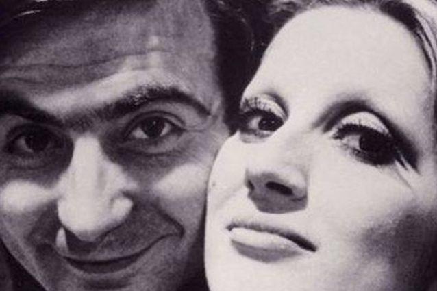 Paolo Limiti e Mina.