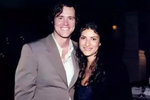 Laura Pausini e Jim Carrey.