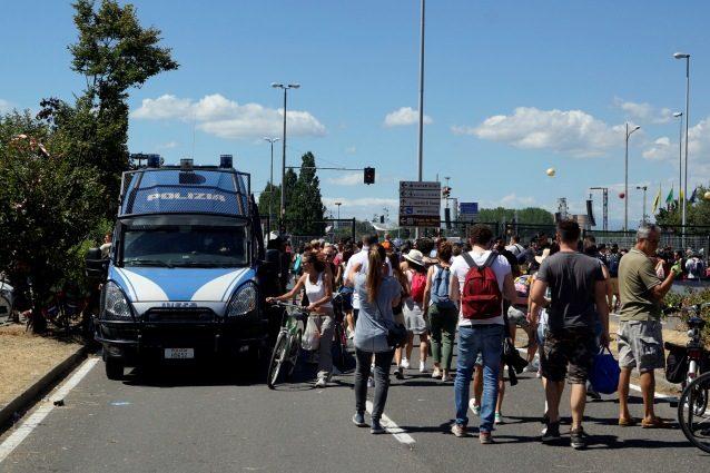 Concerto Vasco Rossi a Modena, denunciato uomo che teneva nascosto un manganello