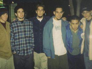 I Linkin Park agli esordi (foto via Instagram di Mark Shinoda)