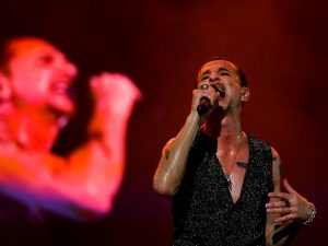 Dave Gahan dei Depeche Mode (Getty Images)