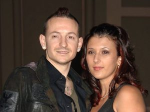 Chester e Talinda Bennington (Getty Images)