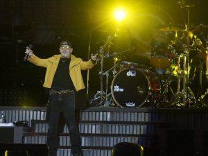 Vasco Rossi sul palco di Modena Park (LaPresse)