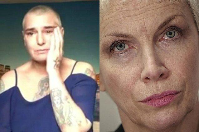 """Annie Lennox: """"Preoccupata per Sinead O'Connor. Nessun amico o familiare può aiutarla?"""""""