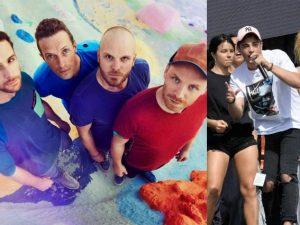 I Coldplay comandano ancora la classifica, Riki giù dal podio