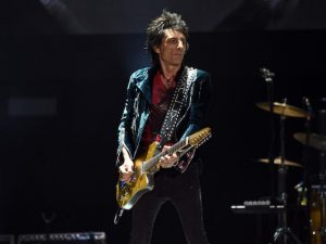 Ronnie Wood dei Rolling Stones (Getty Images)