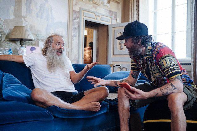 Rick Rubin e Jovanotti (foto di Michele Maikid Lugaresi)