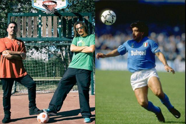 Maradona festeggia 57 anni: KG Man e Raina gli dedicano una canzone