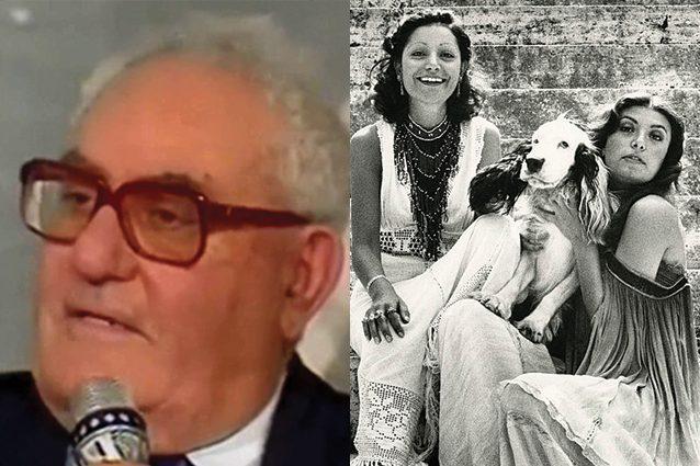 È morto Giuseppe Bertè, papà di Loredana e di Mia Martini