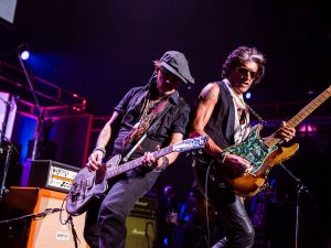Lucca Summer Festival 2018: Johnny Depp in concerto con gli Hollywood Vampires