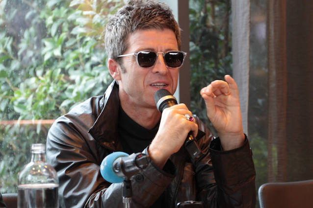Noel Gallagher in conferenza stampa