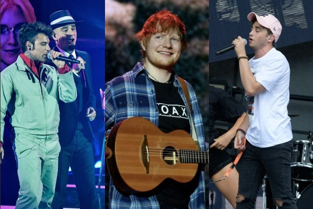 Ed Sheeran in vetta alle classifiche italiane del 2017