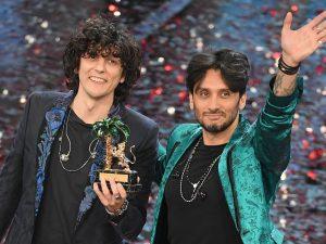 Ermal Meta e Fabrizio Moro al 68° Festival di Sanremo (LaPresse)
