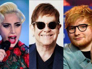 """Rileggere le canzoni di Elton John: in """"Revamp"""" Ed Sheeran, Coldplay, Lady Gaga, Miley Cyrus"""