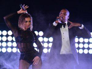 Beyoncé e Jay Z (foto d'archivio Getty)