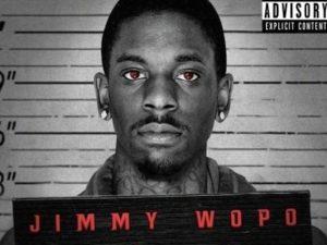"""Il rapper Jimmy Wopo sulla copertina di """"Back against the wall"""""""