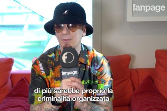 """J- Ax sulla legalizzazione della cannabis: """"La criminalità organizzata ..."""