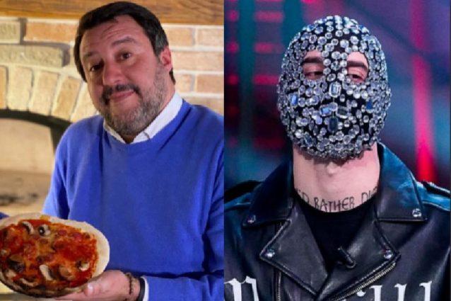 """Matteo Salvini contro Junior Cally: """"Assurdo che chi canta c"""