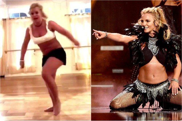 """Britney Spears si rompe il piede e posta il video online: """"S"""