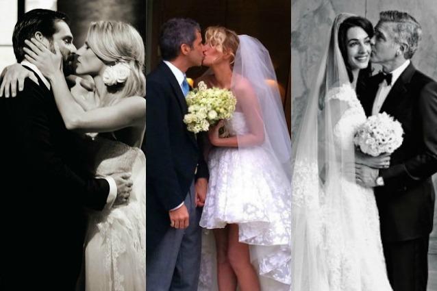 Matrimoni Vip Spiaggia : Tutte le nozze vip del da george clooney a michelle