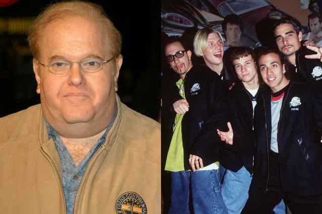 Lou Pearlman And Nick Carter