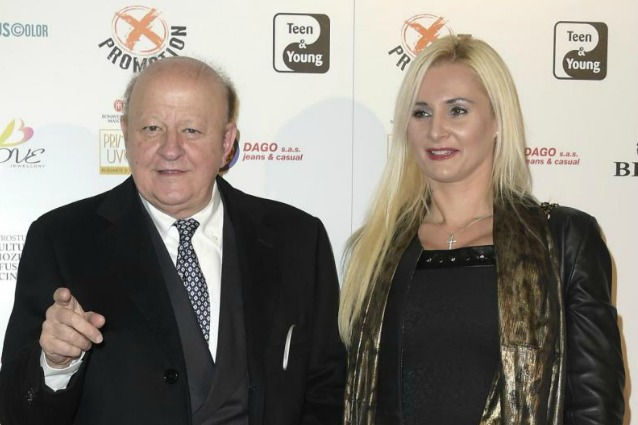 Massimo Boldi e l'attuale compagna Loredana De Nardis