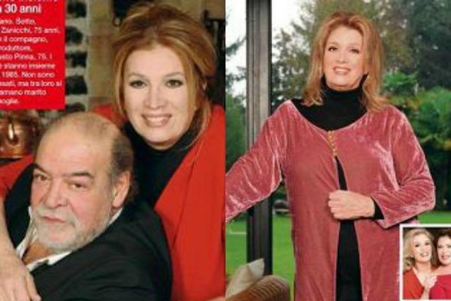"""Iva Zanicchi e Fausto Pinna, 30 anni d'amore: """"Il nostro segreto? Siamo complici e felici"""""""