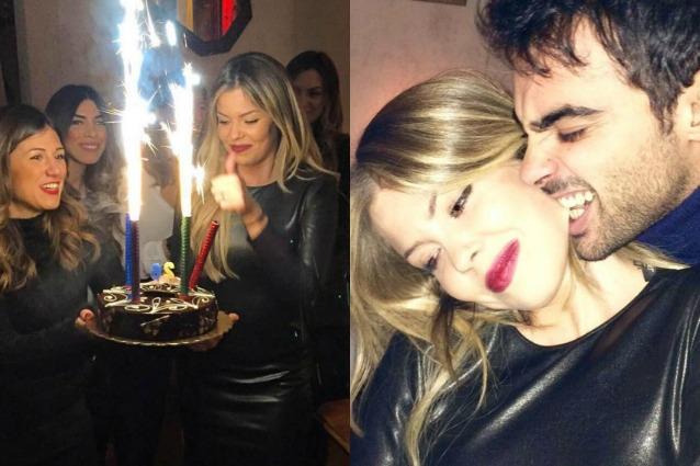 Morsi d'amore tra Costanza Caracciolo e Primo Reggiani: quando il compleanno è sexy