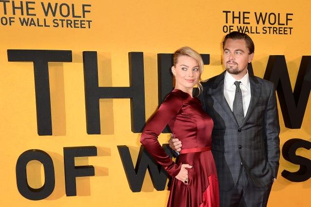 Leonardo con Margot Robbie