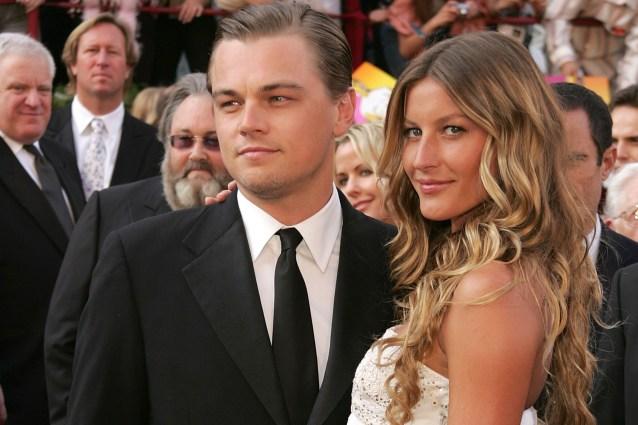 Leonardo DiCaprio con Gisele Bundchen