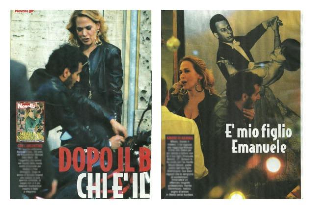 Barbara D'Urso in discoteca con un moro misterioso, questa volta è il figlio Emanuele