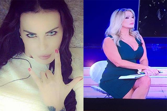 """Nina Moric contro Paola Ferrari: """"Cellulite e buccia d'arancia in diretta tv"""""""
