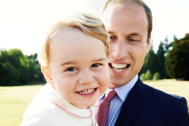 """William: """"Troppi regali a George per il compleanno, sta diventando troppo viziato"""""""