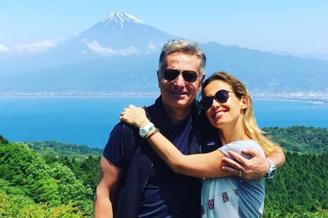 Aereo Privato Bonolis : Sonia bruganelli viaggio in prima classe e noleggio un