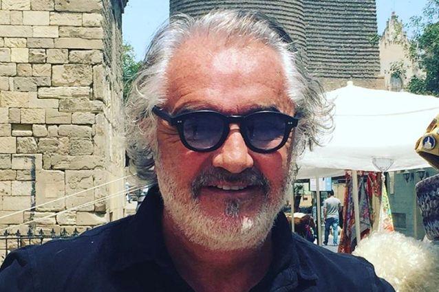 """Flavio Briatore sul jet privato di Bonolis: """"Gli italiani invidiosi di chi diventa ricco"""""""