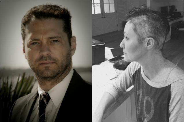 """Jason Priestley a Shannen Doherty, malata di cancro: """"Coraggio straordinario, ce la farà"""""""