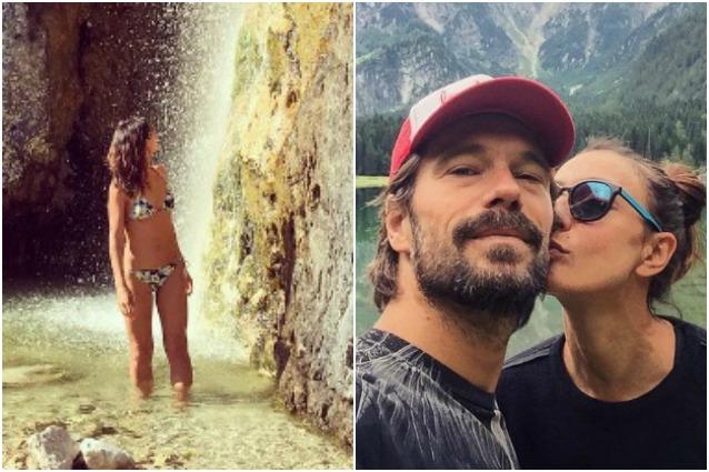 Ambra Angiolini e Lorenzo Quaglia in montagna, estate d'amore ad alta quota per la coppia