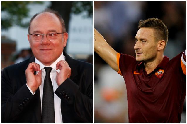 """Carlo Verdone su Francesco Totti: """"Ha una casa super, mai vista una cosa del genere"""""""