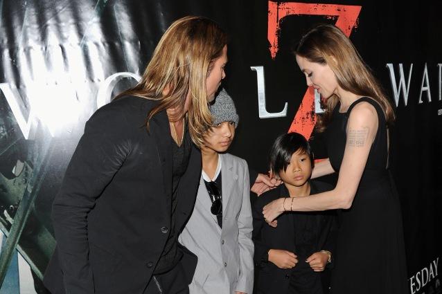 """Le tate dei figli di Brad Pitt e Angelina Jolie: """"Non hanno alcun controllo sui figli"""""""
