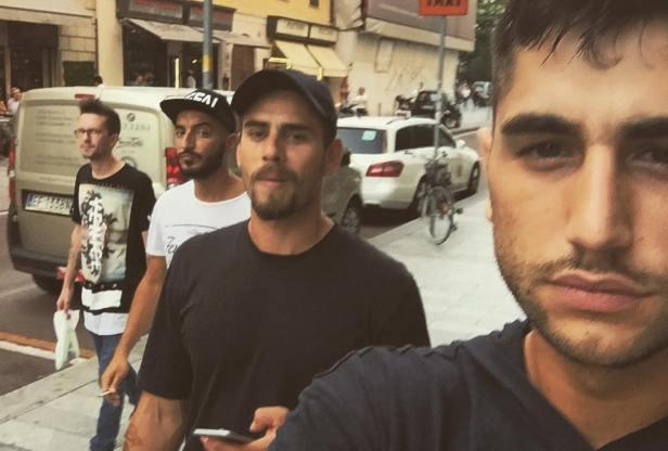 La scorsa settimana, Jeremias era a Milano con Stefano Monte