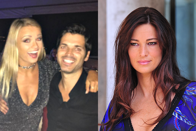 Mercedesz Henger e Sergio Arcuri, si uniscono le due famiglie e Manuela Arcuri approva