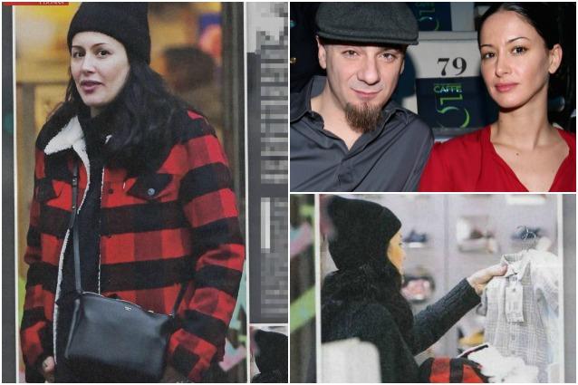 J-Ax presto papà, le foto di Elaina Coker che fa shopping col pancione