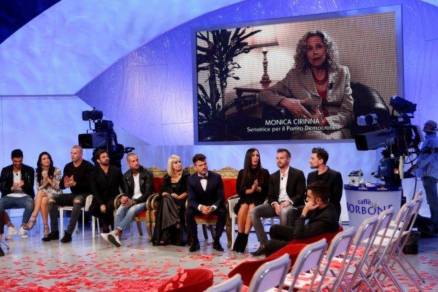 """Il videomessaggio di Monica Cirinnà: """"Grazie a Claudio e a Maria De Filippi"""""""