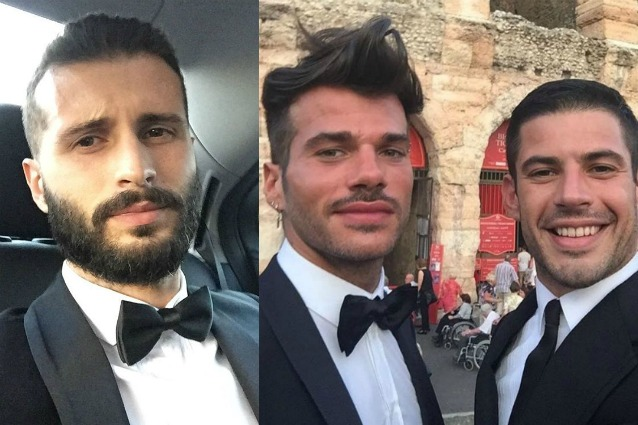 """Francesco Zecchini: """"Sapevo che Claudio Sona stava con Juan, ex di Stefano Gabbana"""""""
