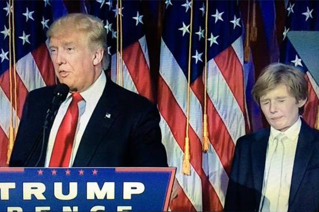 """'Barron Trump autistico', Sgarbi: """"Bullismo degli imbecilli che odiano il padre"""""""
